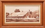 Sale 8926K - Lot 89 - J POCOCK - Large Cottage 13.5 x 29.0cm