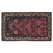 Sale 8914C - Lot 44 - Persian Antique Finely Knotted Sarouk Rug C1940 ,185x105cm, Handspun Wool