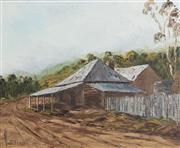 Sale 9055A - Lot 5091 - John Vander (1945 - ) - Corner Store, Central Tableland 39 x 49 cm (frame: 56 x 66 x 5 cm)