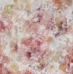 Sale 9212A - Lot 5032 - ROBYN BERNITZ Sinopia oil on canvas 102 x 102 cm signed verso