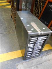 Sale 7943A - Lot 1546 - Metal Industrial Filing Cabinet