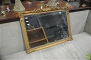 Sale 8310 - Lot 1606 - Gilt Framed Bevelled Edge Rectangular Mirror