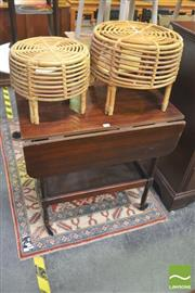 Sale 8406 - Lot 1047 - Drop Side Drinks Trolley