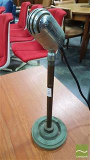Sale 8409 - Lot 1071 - Vintage Zephyr Beehive Microphone on Stand