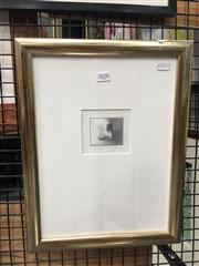 Sale 8726 - Lot 2028 - RJ Davidson - Untitled, pencil drawing, Signed