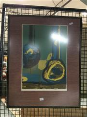 Sale 8752 - Lot 2081 - Claudia Butterfield - African Drums, Print, SLL