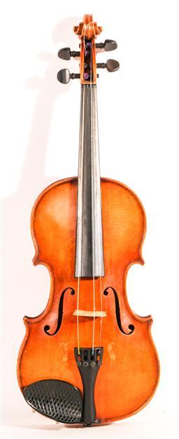 Sale 9136 - Lot 36 - A Czech made Stradivarius copy violin