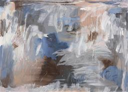 Sale 9154JM - Lot 5081 - CYNDI ROGOFF Frequencies acrylic on canvas 90 x 130.5 cm (frame: 95 x 136 x 4 cm) signed lower left