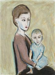 Sale 8781A - Lot 5046 - Robert Dickerson (1924 - 2015) - The Child 75 x 55cm (frame: 98 x 79cm)