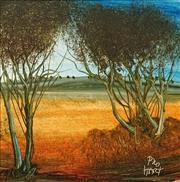Sale 8575 - Lot 582 - Kevin Charles (Pro) Hart (1928 - 2006) - Landscape I 14.5 x 14.5cm