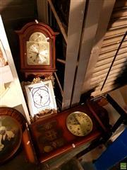 Sale 8582 - Lot 2247 - 3 Assorted Clocks