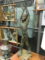 Sale 8643 - Lot 1078 - Boy Sculpture