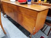 Sale 8705 - Lot 1093 - Vintage Teak Sideboard with 3 Doors and Drawers
