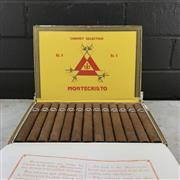 Sale 8970 - Lot 639 - Montecristo No. 4 Cuban Cigars - box of 25, stamped May 2016