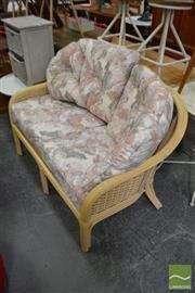 Sale 8480 - Lot 1118 - Cane 2 Seater Lounge
