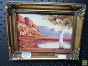 Sale 8544 - Lot 2005 - Henk Guth - MacDonnell Ranges, 1997 11.5 x 17cm