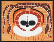 Sale 8901A - Lot 5067 - Gudu Mungulu - Wandjina and Ungud 40 x 51.5 cm