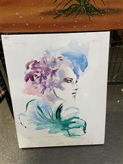 Sale 8927 - Lot 2043 - Contemporary Portrait by Emma Ferguson