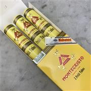 Sale 8970 - Lot 646 - Montecristo Petit Tubos Cuban Cigars - pack of 3, removed from box stamped December 2017