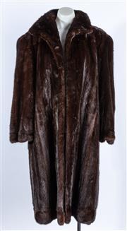 Sale 9003F - Lot 47 - A Saga Mink knee length Jacket,  size S