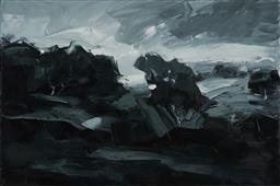 Sale 9081A - Lot 5052 - Sokquon Tran - Of Land & Sea 61 x 91cm (frame 64 x 95 x 5 cm)