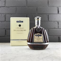 Sale 9089 - Lot 510 - Martell XO Supereme Cognac - old bottling, 40% ABV, 700ml in box
