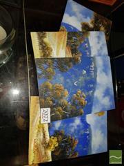 Sale 8544 - Lot 2072 - Michael Taylor (4 works) - Landscapes 17 x 12cm, each