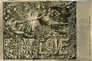 Sale 8643A - Lot 5007 - Martin Sharp (1942 - 2013) - Live, Give, Love 1967 50.5 x 75.5cm