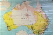 Sale 8997 - Lot 26 - School Map of Australia