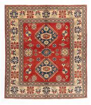 Sale 8770C - Lot 85 - An Afghan Kazak 100% Wool And Natural Dyes, 220 x 196cm