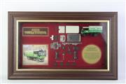 Sale 8827T - Lot 680 - Framed Limited Edition Matchbox Model of Yesteryear, Yorkshire Steam Wagon, No. 05435