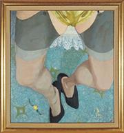 Sale 8916 - Lot 505 - Venetia Sieveking - Filmer Sankey 78.5 x 73 cm