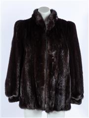 Sale 9003F - Lot 51 - A Mink Cornelius Fur Jacket With initials S.N Sydney Original, size S