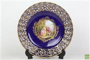 Sale 8481 - Lot 61 - Late 19th Century Meissen Cabinet Plate