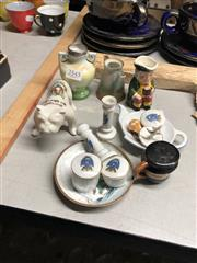 Sale 8802 - Lot 387 - Miniature Toby Jugs with other Ceramics incl. English & Asian Examples