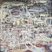 Sale 9067 - Lot 573 - Liz Cuming (1956 - ) - Untitled (Abstract) 122 x 122 cm (stretched and ready to hang)