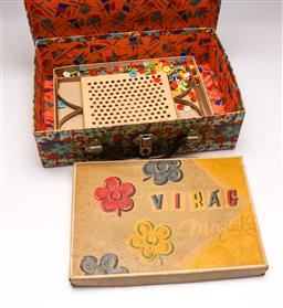 Sale 9131 - Lot 44 - Vintage mosaic tile game