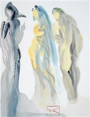 Sale 8658A - Lot 5061 - Salvador Dali (1904 - 1989) - The Sphere of Venus, 1960 33 x 26.2cm