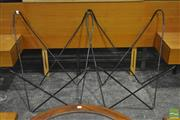 Sale 8287 - Lot 1077 - Pair of Butterfly Chair Frames