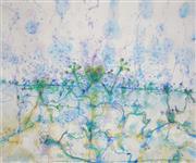 Sale 8504 - Lot 536 - John Olsen (1928 - ) - Frog Dance after the Storm 67 x 83cm