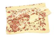 Sale 8564 - Lot 328 - A VINTAGE LIBERTY OF LONDON SILK SCARF; cream with stylised floral design, 87 x 79cm.