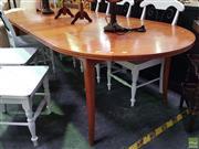 Sale 8629 - Lot 1041 - Parker Extension Dining Table (H: 70 L: 231 W: 107cm)