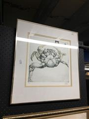 Sale 8702 - Lot 2079 - Jorg Schmeisse Rosedale - Crab, etching & aquatint, limited edition 13/50, SLR