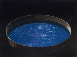 Sale 9112A - Lot 5004 - Tim Storrier (1949 - ) - Bowl of Stars, 1994 56 x 76 cm (frame: 94 x 113 x 3 cm)