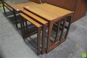 Sale 8310 - Lot 1082 - G-Plan Teak Nest of Tables