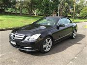 Sale 8359A - Lot 3 - 2011 Mercedes benz E350 convertible, Mercedes Benz E350 Cabriolet fully electric roof with glass back window.  	Built Jan 2011 and...