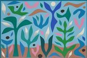 Sale 8813 - Lot 529 - John Coburn (1925 - 2006) - Spring, 1988 47.5 x 71.5cm