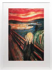 Sale 8961 - Lot 2032 - Edvard Munch (1863 - 1944) - The Scream 88 x 60 cm