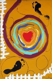 Sale 8976A - Lot 5046 - Clinton Nain (1971 - ) - Pot Holed Rainbow 2003 91.5 x 61.0 cm