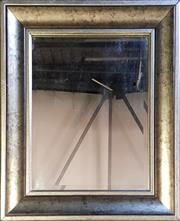 Sale 8979 - Lot 1007 - Bevelled Edge Mirror in Silvered Frame (70 x 60cm)